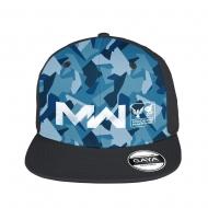 Call of Duty : Modern Warfare - Casquette Snapback Logo Blue