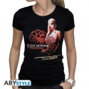 GAME OF THRONES - T-Shirt Mother of dragons femme MC black