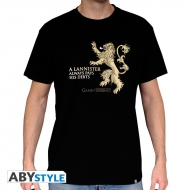 GAME OF THRONES - Tshirt Lannister homme MC black - basic