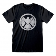 Avengers - T-Shirt Shiled Logo Distressed