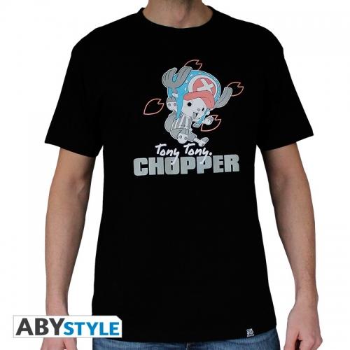 ONE PIECE - Tshirt Chopper homme MC black - basic