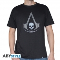 ASSASSIN'S CREED - Tshirt Crest AC4 gris homme MC black used