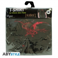 THE HOBBIT - Tshirt Smaug homme MC black - basic