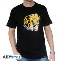 DRAGON BALL - Tshirt DBZ/ Goku Super Saiyan homme MC black - basic