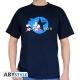 SONIC - Tshirt Running homme MC navy - basic