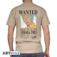 ONE PIECE - Tshirt Wanted Zoro homme MC sand - basic