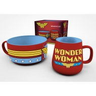 DC Comics - Set petit-déjeuner Wonder Woman