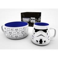 Original Stormtrooper - Set petit-déjeuner Helmet