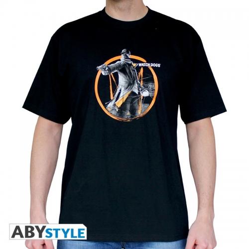 WATCH DOGS - Tshirt Fox Tag homme MC black - basic