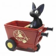 Kiki la petite sorcière - Pot à fleurs Jiji Red Handcart 20 cm