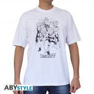 DRAGON BALL - Tshirt DBZ/Groupe homme MC white - basic