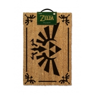 The Legend of Zelda - Paillasson Triforce Black 40 x 60 cm