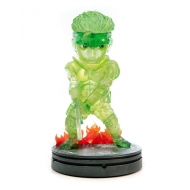 Metal Gear Solid - Statuette SD Solid Snake Stealth Camouflage Neon Green Ver. 20 cm