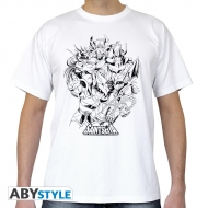 SAINT SEIYA - Tshirt Chevaliers de Bronze homme MC white - basic