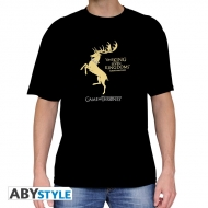 GAME OF THRONES - Tshirt Baratheon homme MC black - basic