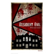Resident Evil - Lithographie Welcome Home 42 x 30 cm