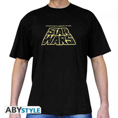 STAR WARS - Tshirt A long time ago... homme MC black