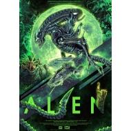 Alien - Lithographie Interface 2037 42 x 30 cm