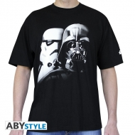 STAR WARS - Tshirt Vador-Troopers homme MC black - basic
