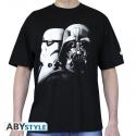STAR WARS - Tshirt Vador-Troopers homme MC black - basic