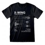 Star Wars - T-Shirt X-Wing Sketch