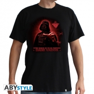 STAR WARS - T-Shirt Dark Vador - Foi homme MC black