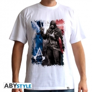 ASSASSIN'S CREED - Tshirt AC5 - Drapeau homme MC white - basic