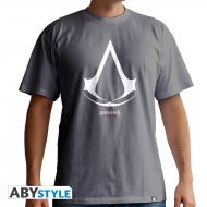 ASSASSIN'S CREED - Tshirt Logo homme MC grey