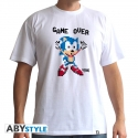 SONIC - Tshirt Game Over homme MC white