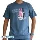 LAPINS CRETINS - Tshirt Trône homme MC stone blue