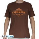 LE VISITEUR DU FUTUR - T-Shirt Apocalypse homme MC chocolat