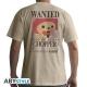 ONE PIECE - Tshirt Wanted Chopper homme MC sand - basic