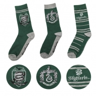 Harry Potter - Pack 3 paires de chaussettes Slytherin