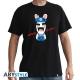 LAPINS CRETINS - Tshirt Game Over homme MC black - basic