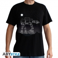 STAR WARS - T-Shirt AT-AT Stars homme MC black