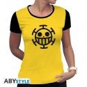 ONE PIECE - Tshirt Trafalgar Law femme MC jaune