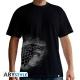 GAME OF THRONES - T-Shirt Stark spray homme MC black