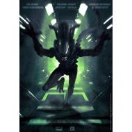 Alien - Lithographie Attack 42 x 30 cm