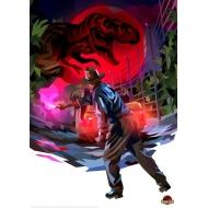 Jurassic Park - Lithographie Torch 42 x 30 cm