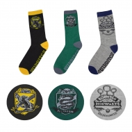 Harry Potter - Pack 3 paires de chaussettes Quidditch Hogwarts