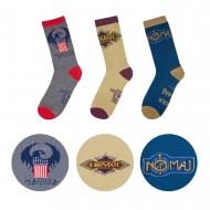 Les Animaux fantastiques - Pack 3 paires de chaussettes MACUSA