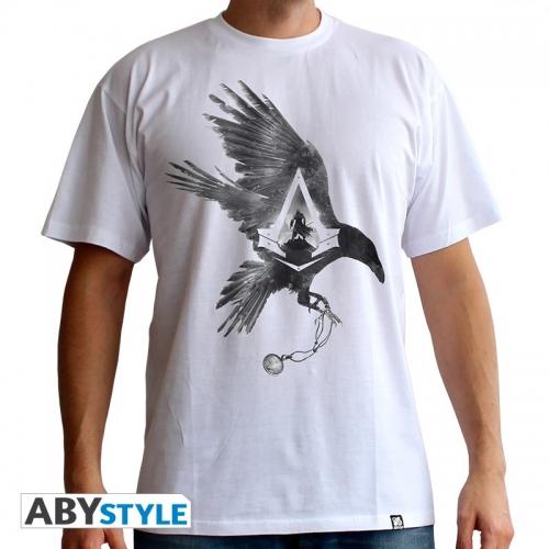 ASSASSIN'S CREED - Tshirt Corneille homme MC white - basic