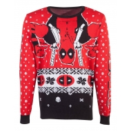 Marvel - Sweat Christmas Deadpool Upside Down