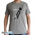 STAR WARS - T-Shirt X-Wing Resistance homme MC sport grey