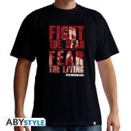 THE WALKING DEAD - T-Shirt Fight the dead homme MC black