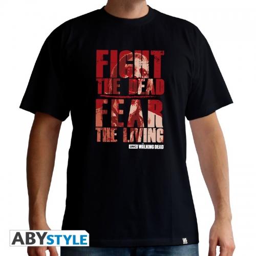 THE WALKING DEAD - T-Shirt Fight the dead homme MC black