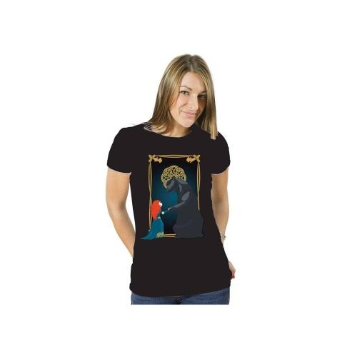Rebelle - T-Shirt femme Merida & Bear