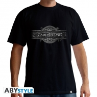 GAME OF THRONES - T-Shirt Opening Logo homme MC black