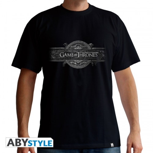GAME OF THRONES - T-Shirt Opening Logo homme MC black