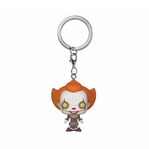 « Il » est revenu 2 - Porte-clés Pocket POP! Pennywise 4 cm